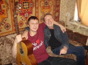 Александр Мешков (справа) и Алексей Мешков